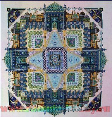 Persian Iris Garden 052
